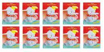 Kit com 10 Livros Ler e Colorir Dumbo Disney Lembrancinha - Kopeck