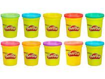 Kit com 10 Massinhas de Modelar - Hasbro Play-Doh