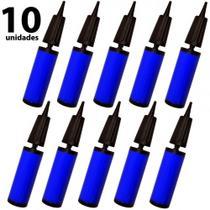 Kit com 10 Mini Bombas para Bola de Pilates, Bexigas, Baloes Metalizado, Inflaveis  Liveup -
