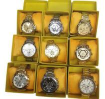 Kit Com 10 Relógios Masculino Luxo + Caixa Atacado E Revenda - Imports