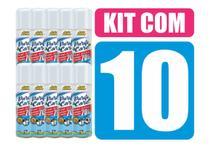 Kit com 10 Spray de Álcool 70% - AutoShine