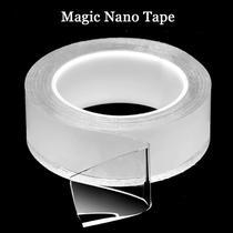 KIT com 10 Super Fita Mágica Nano Adesiva Dupla - Dupla-Face
