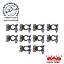 Kit com 10 Terminais Sapinho Polo Positivo de Bateria ETE9739 - Cód.6026 - Rainha
