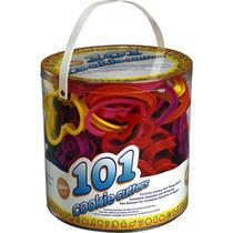 Kit com 101 Cortadores Para Biscoito e Massas Para Confeitaria - Wilton
