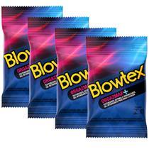 Kit com 12 Preservativo Blowtex Orgazmax c/ 3 Un Cada -