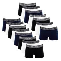 Kit Com 15 Cuecas Boxer de Cotton 5.0 - Polo Match