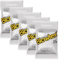 Kit com 15 Preservativo Blowtex Zero c/ 3 Un Cada -