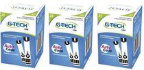Kit Com 150 Fita Tira Para Medir Glicemia Glicose Em Medidor De Glicose G-tech Lite -