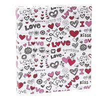 Kit com 2 álbuns infantil rebites 300 fotos 10x15 ical love -