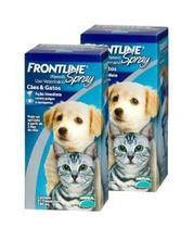 Kit Com 2 Antipulgas Frontline Spray Para Cães 100ml - Merial
