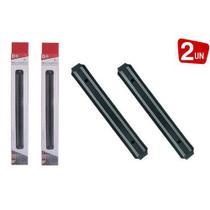 Kit com 2 Barras Magnética com Imã para Facas 32cm - Top Rio