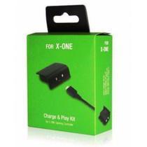 Kit Com 2 Baterias Carregador Usb Para Controle Xbox One - Expresso
