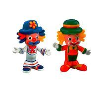 Kit com 2 bonecos do Patatí e Patatá - Lider