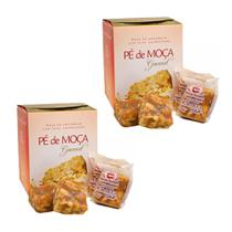 Kit com 2 Caixas de Pé de Moça Gourmet de Piranguinho Barraca Vermelha - 8 unidades -
