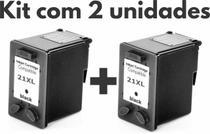 Kit Com 2 Cartuchos 21xxl Super Black - Com Nf - fenix