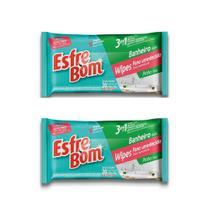 Kit Com 2 Esfrebom Wipes Banheiro - Bettanin