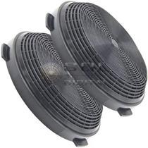 Kit com 2 Filtros de Carvão Ativado para Coifa Electrolux 60CV -