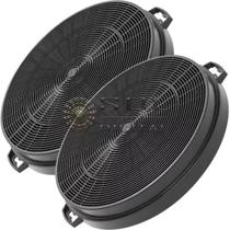 Kit com 2 Filtros de Carvão Ativado para Coifas Electrolux 60CX e 90CX -