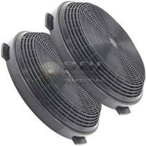 Kit com 2 Filtros de Carvão Ativado para Coifas Electrolux 90CV / 60CT / 90CT / 90CIT -