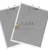 Kit com 2 Filtros Metálicos para Coifas Electrolux 60CX -