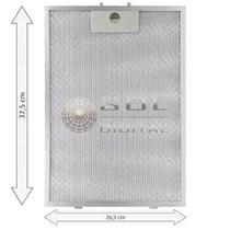 Kit com 2 Filtros Metálicos para Depurador Electrolux Digital DE60T -