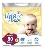Kit com 2  Fralda Descartável Infantil Upa Bebê G Plus Barato Atacado -