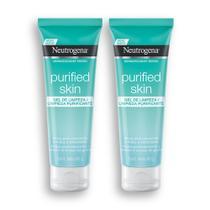 Kit com 2 Gel de Limpeza Purificante NEUTROGENA Purified Skin 80g -
