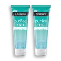 Kit com 2 Gel Esfoliante Purificante NEUTROGENA Purified Skin 100g -