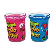 Kit Com 2 Geleca Slime Ecão Glitter Dtc 5055 -