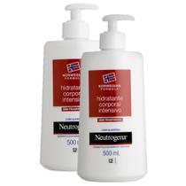 Kit com 2 Hidratantes Corporal Neutrogena Norwegian Body s/ Fragrância 500ml -