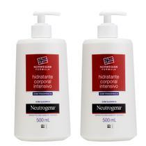 Kit com 2 Hidratantes Corporal Neutrogena Norwegian Formula Intensivo com Fragrância 500ml -
