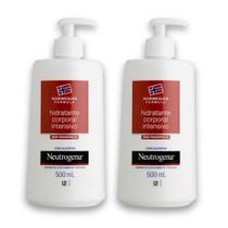 Kit com 2 Hidratantes Corporal NEUTROGENA NORWEGIAN Intensivo 500ml -