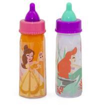 Kit Com 2 Mamadeiras Mágicas Princesas Disney  29600 Toyng -