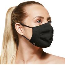 Kit com 2 Máscaras Lupo - Preto - Zero Costura Bac-Off - Pau A Pique