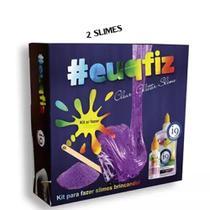 kit com 2 para fazer slime glitter bri0226 euqfiz - Pdv