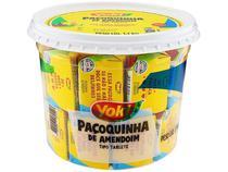 Kit com 2 Potes Paçoca Tablete de Amendoim Yoki 1,1 Kg sendo 22g cada -