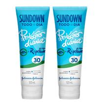 Kit com 2 Protetor Solar Sundown Todo Dia com Repelente FPS 30 120ml -