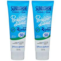 Kit com 2 Protetor Solar Sundown Todo Dia com Repelente FPS 50 120ml -