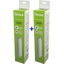 Kit Com 2 Refis / Filtro CIX01AX  Para Purificador de Água CONSUL - CPC30CPB35 e CPB36 (Original) -