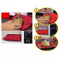 Kit com 2 Saco Para Assar Batatas Express No Microondas - Potato Express