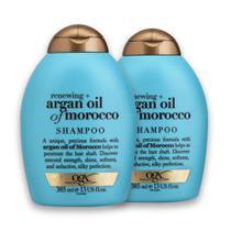 Kit com 2 Shampoos OGX Argan Oil of Morroco 385ml -