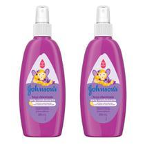 Kit com 2 Sprays Finalizador JOHNSONS Força Vitaminada 200 ml -
