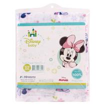 Kit com 2 Toalhas Fralda Disney Baby Minie - MinasRey -