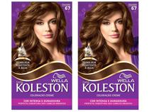 Kit com 2 Unidades Tinta de Cabelo Koleston - 67 Chocolate