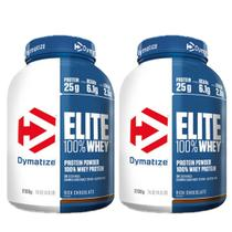kit com 2 Whey  Elite 2,3kg Dymatize - (Baunilha) - Dymatize Nutrition