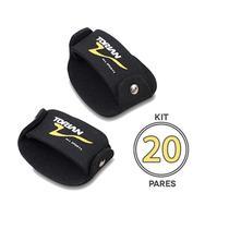 Kit Com 20 Pares de Luva EVA Sliper Torian FTG M -