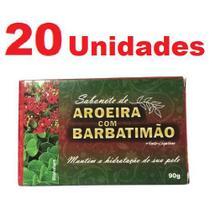 Kit com 20 Sabonete de Aroeira e Barbatimão em Barra 90g - Bionature