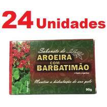 Kit com 24 Sabonete de Aroeira e Barbatimão em Barra 90g - Bionature
