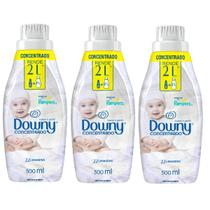 Kit com 3 Amaciantes Downy Suave e Gentil 500ml