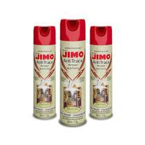 Kit Com 3 Anti Traça Jimo 300ml Repele Traças -